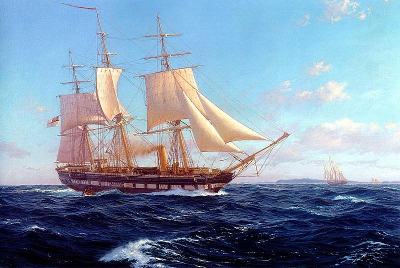 Challenger off Bermuda. J Steven Dews