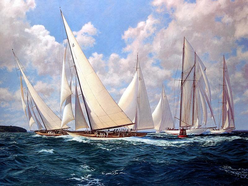 Solent Fortnight 1932. J Steven Dews