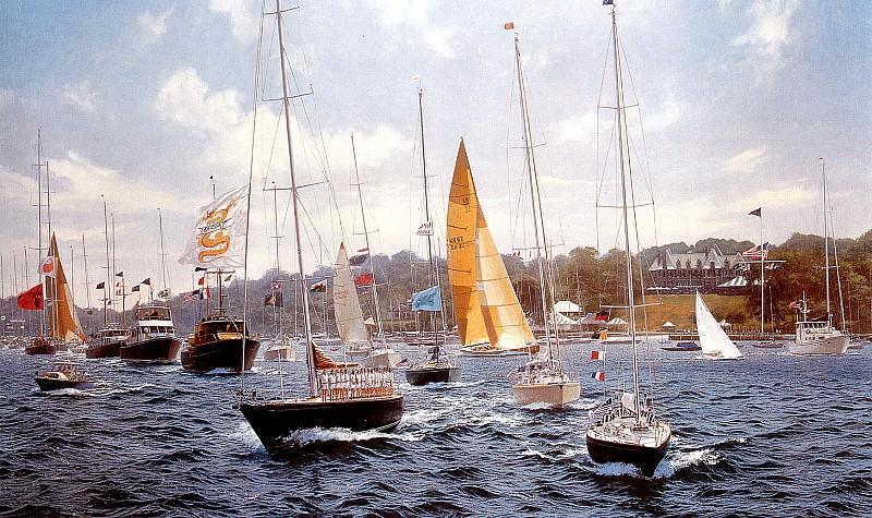 New York Yacht Club Sesquicentennial Regatta. J Steven Dews