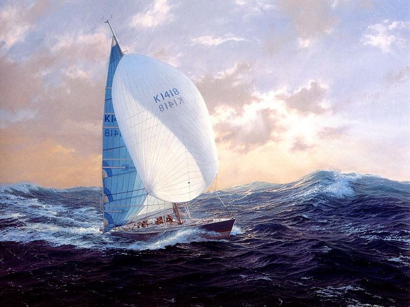 Maiden in the Southern Ocean. J Steven Dews