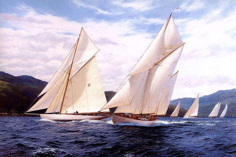 Kentra The Fife Regatta 1998. J Steven Dews