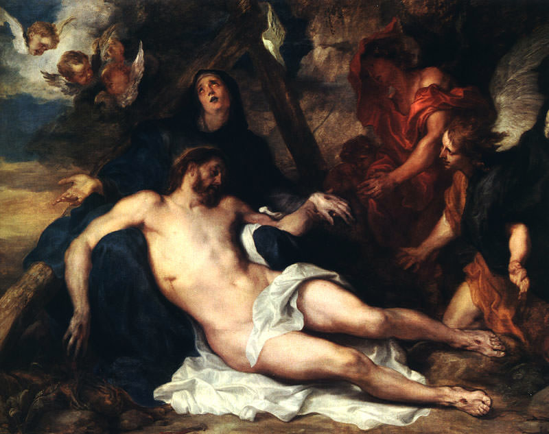 Снятие с креста. Антонис Ван Дейк