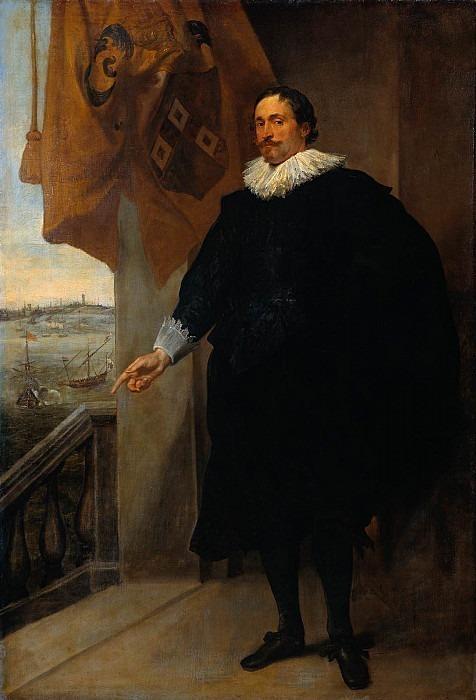 Nicolaes van der Borght Merchant of Antwerp. Anthony Van Dyck