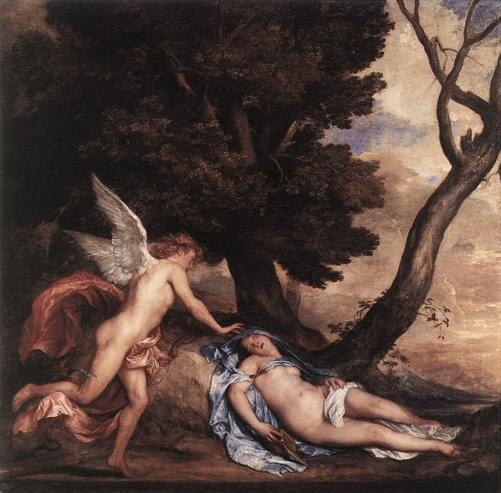 Cupid and Psyche. Anthony Van Dyck