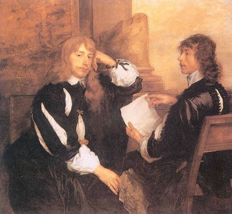 Thomas Killigrew and William Lord Crofts. Anthony Van Dyck