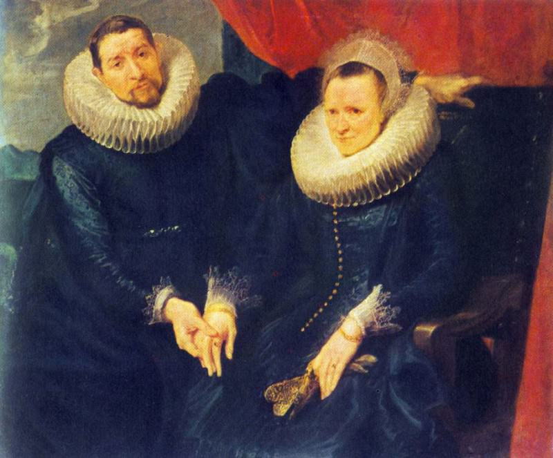 Portrait of a Married Couple. Anthony Van Dyck