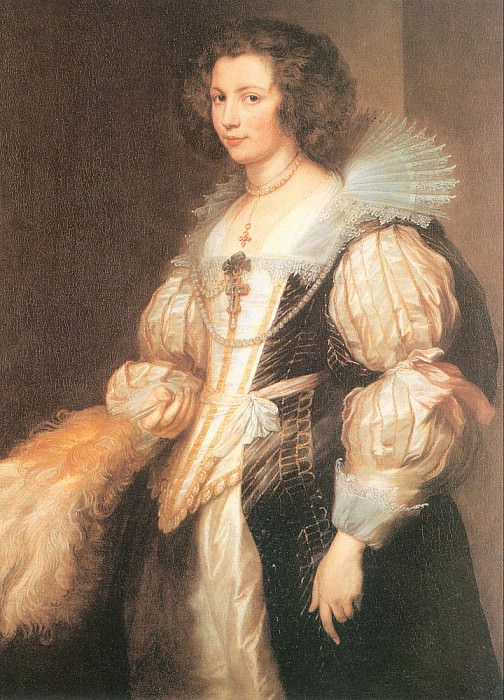 Portrait of Maria Lugia de Tassis. Anthony Van Dyck