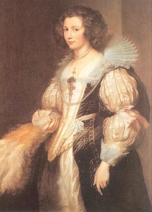 Портрет Марии Луизы де Тассис. Антонис Ван Дейк
