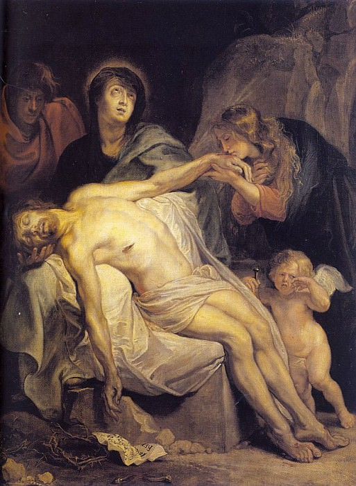 The Lamentation. Anthony Van Dyck