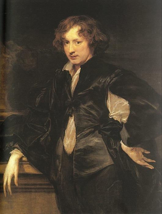 Self-portrait. Anthony Van Dyck