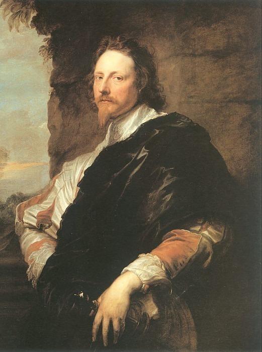 Musician Nicolas Lanier. Anthony Van Dyck