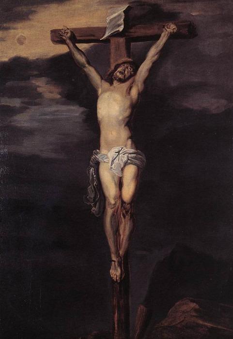 Распятый Христос. Антонис Ван Дейк (Последователь)