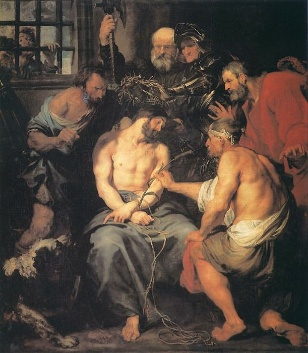 Crowning with Thorns. Anthony Van Dyck