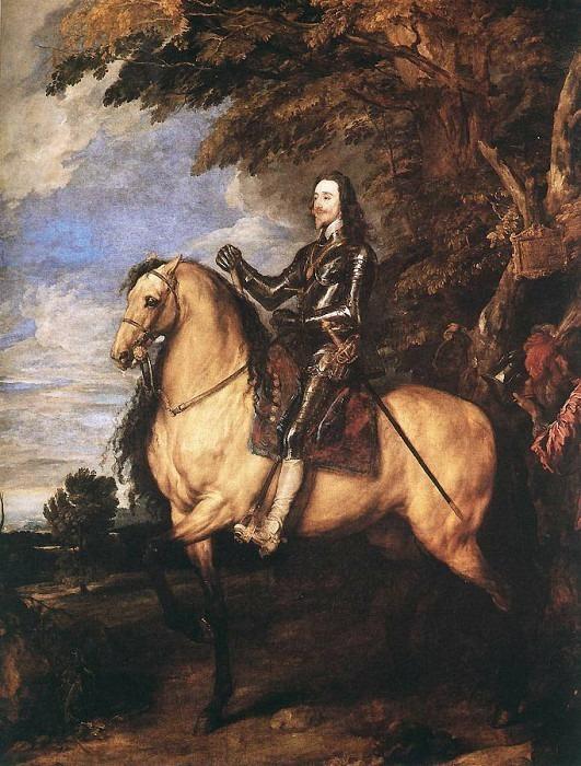 Charles I on Horseback. Anthony Van Dyck
