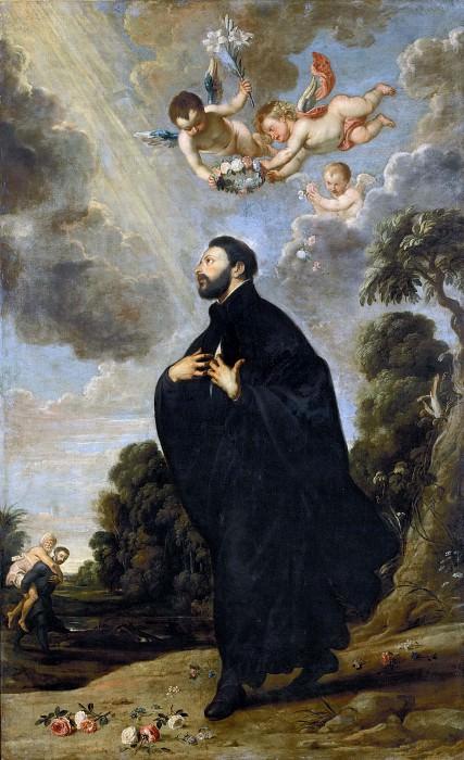 Saint Francis Xavier. Anthony Van Dyck