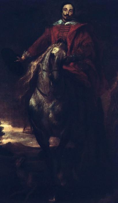 Portrait of the Painter Cornelis de Wae. Anthony Van Dyck