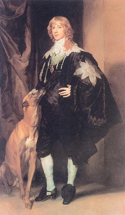 Джеймс Стюарт, герцог Леннокский и Ричмондский. Антонис Ван Дейк