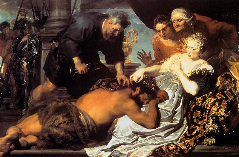 Samson and Dalila. Anthony Van Dyck