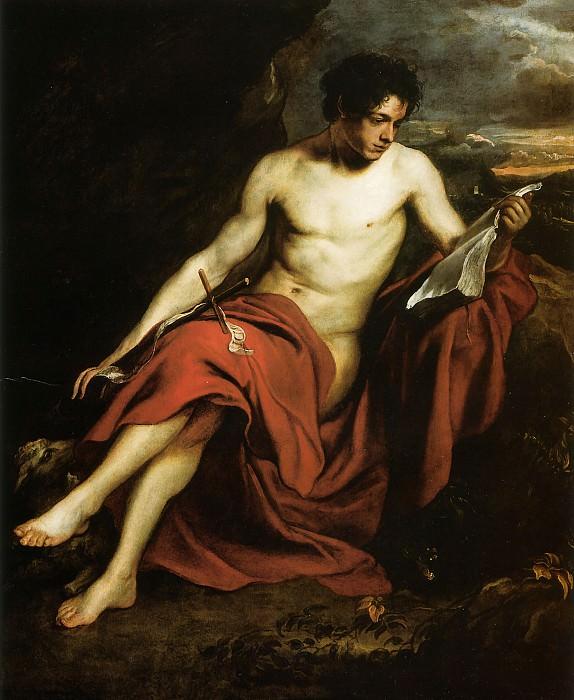 Saint John the Baptist in the Wilderness. Anthony Van Dyck