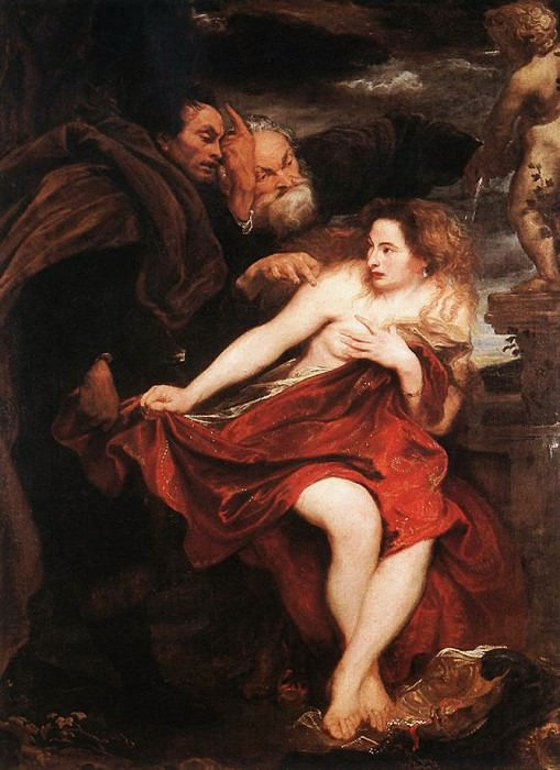 Susanna and the Elders. Anthony Van Dyck