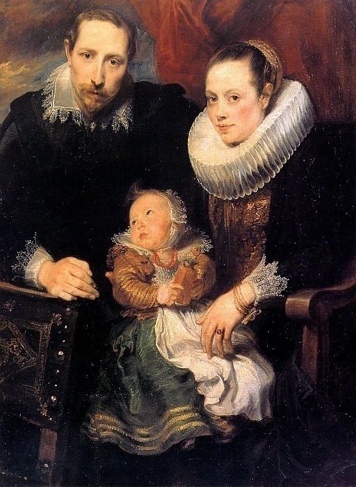 Семейный портрет. Антонис Ван Дейк