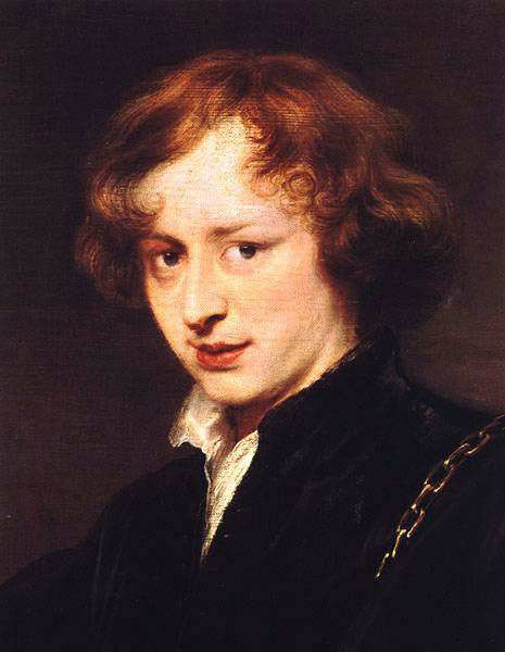 Self Portrait. Anthony Van Dyck