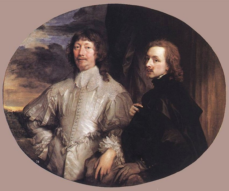 Sir Endymion Porter and the Artist. Anthony Van Dyck