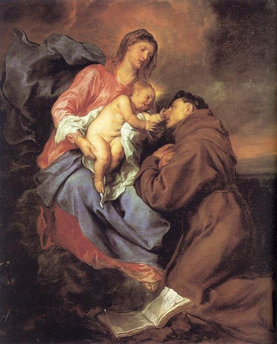 Видение Святого Антония. Антонис Ван Дейк