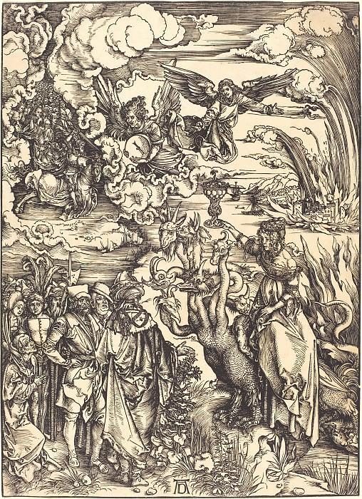 Whore of Babylon. Durer Engravings