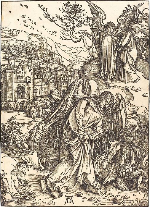 Новый Иерусалим и Ангел с ключом от Преисподней. Гравюры Дюрера
