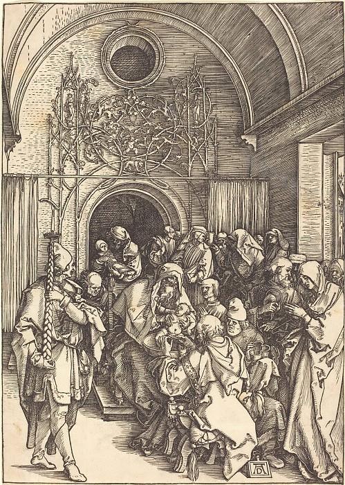 Circumcision of Christ. Durer Engravings