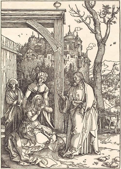 Христос, прощающийся со Своей Матерью. Гравюры Дюрера