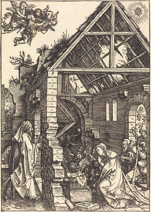 Nativity. Durer Engravings