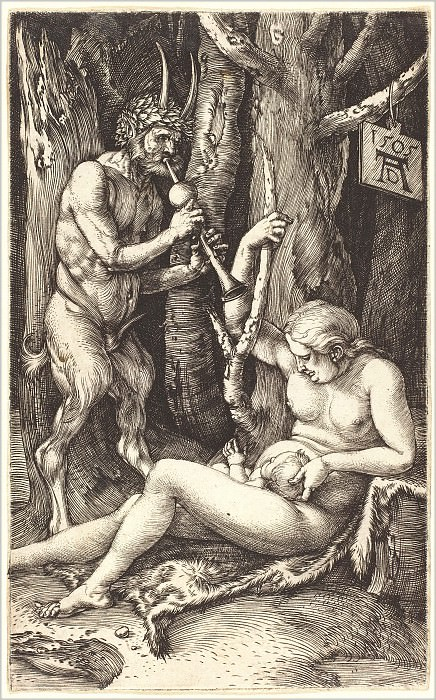 Family satire. Durer Engravings