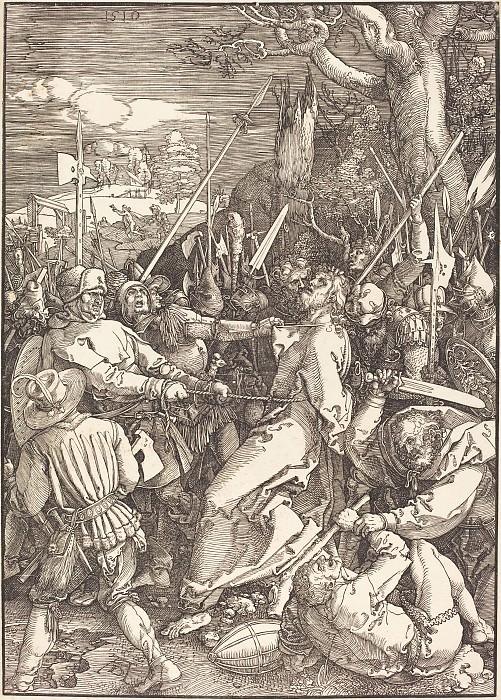 The Taking of Christ. Durer Engravings