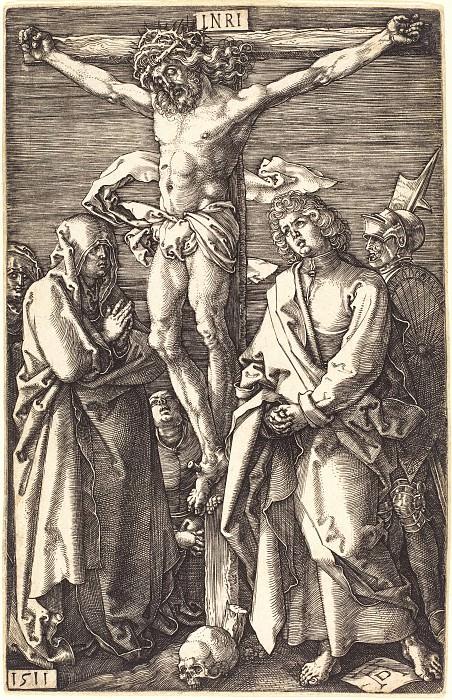 Crucifix. Durer Engravings
