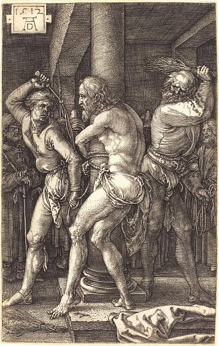 Flagellation. Durer Engravings