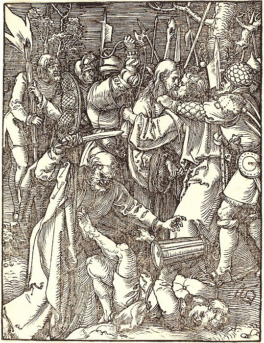 The Taking of Christ. Durer Engravings