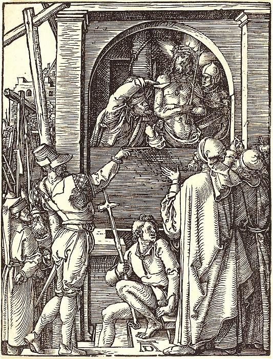Ecce Homo. Durer Engravings