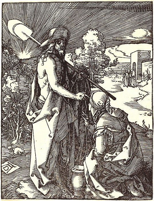 Do not touch me. Durer Engravings