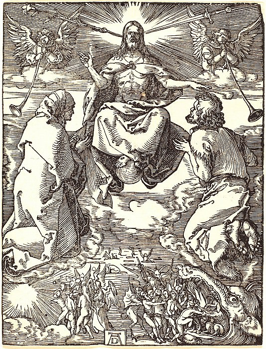 The Last Judgment. Durer Engravings