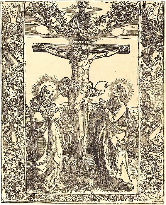 Christ on the Cross. Durer Engravings