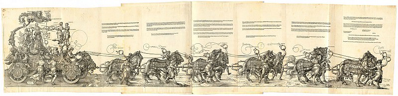 Triumphal Chariot of Maximilian I. Durer Engravings