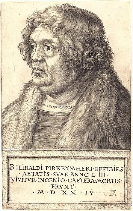 Wilibald Pirkgeymer (1470-1530). Durer Engravings