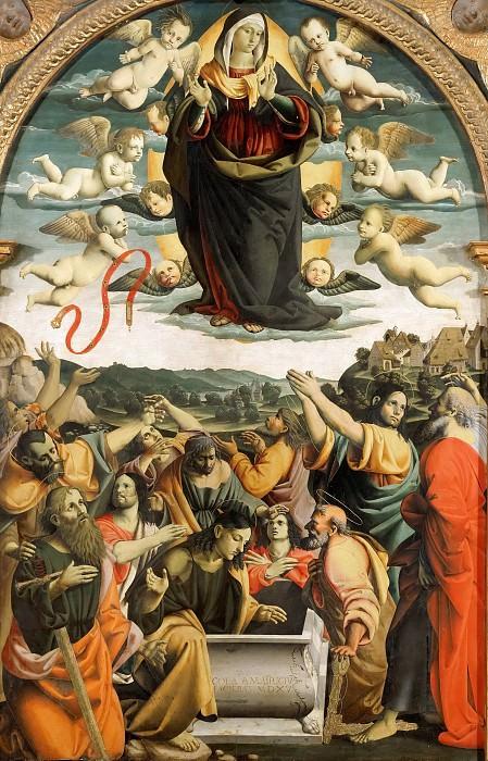 Assumption of the Virgin. Cola dell'Amatrice (Nicola Filotesio)