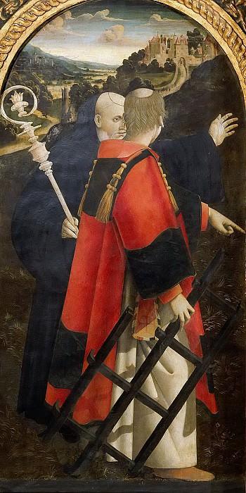 Святые Бенедикт и Лаврентий. Кола дель Аматриче (Никола Филотезио)