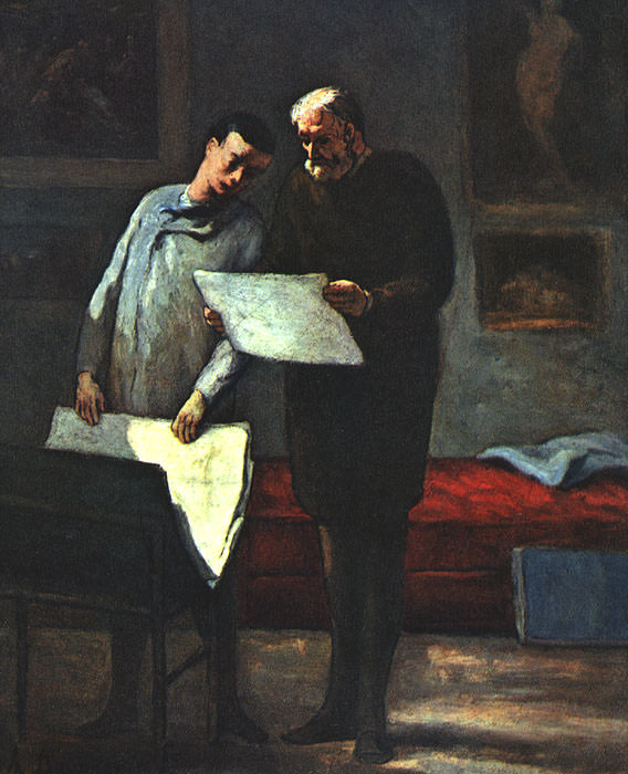 Daumier, Honore (French, 1808-1879)4. Honore Daumier