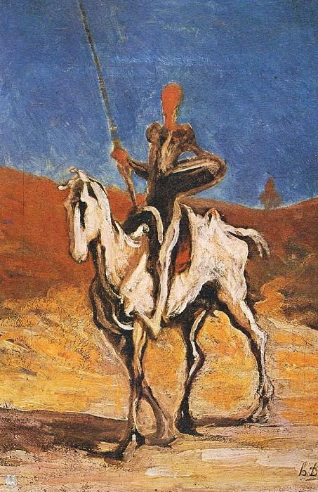 Don Quichotte. Honore Daumier