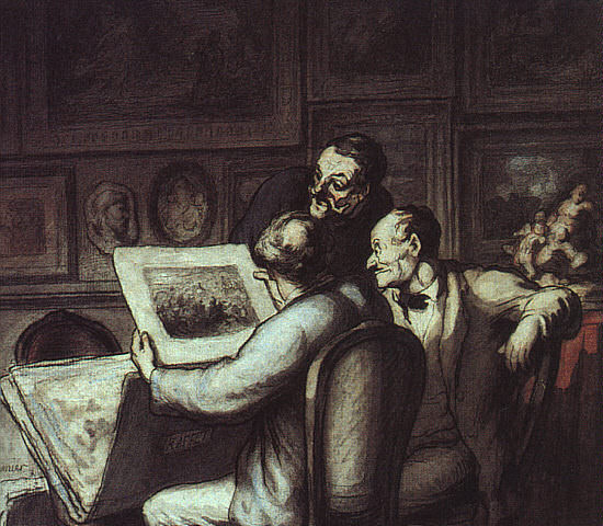 Daumier, Honore (French, 1808-1879)3. Оноре Домье