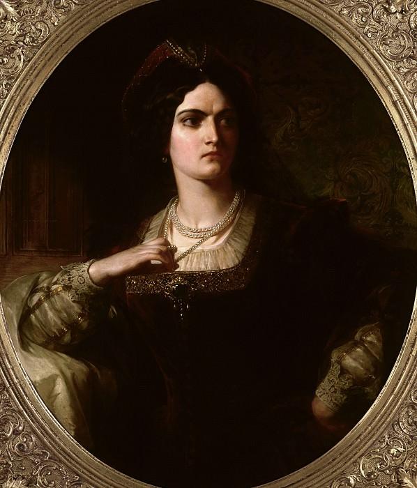 Кейт из «Укрощения строптивой» Уильяма Шекспира (1564–1614). Томас Фрэнсис Дикси